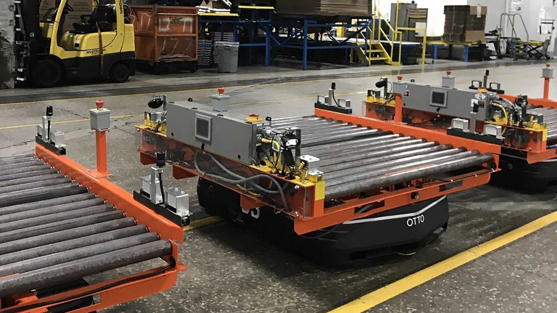 conveyor roller units